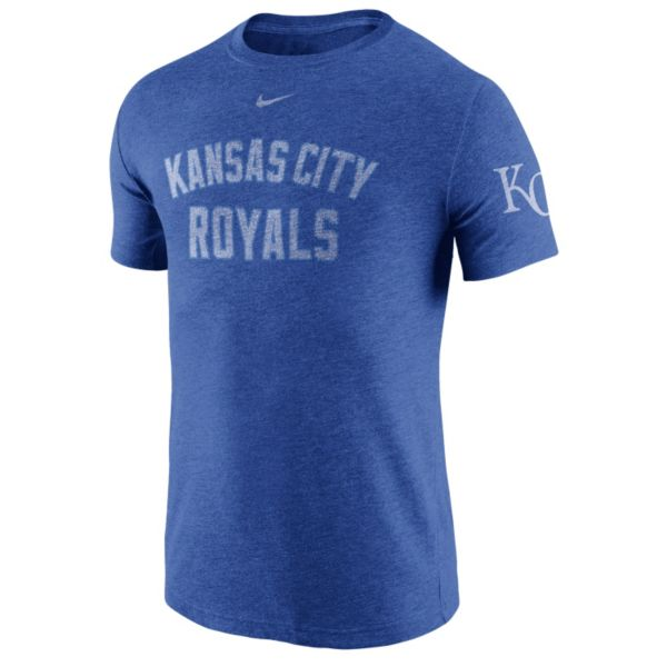 Nike Kansas City Royals Tri-Blend DNA Tee - Men