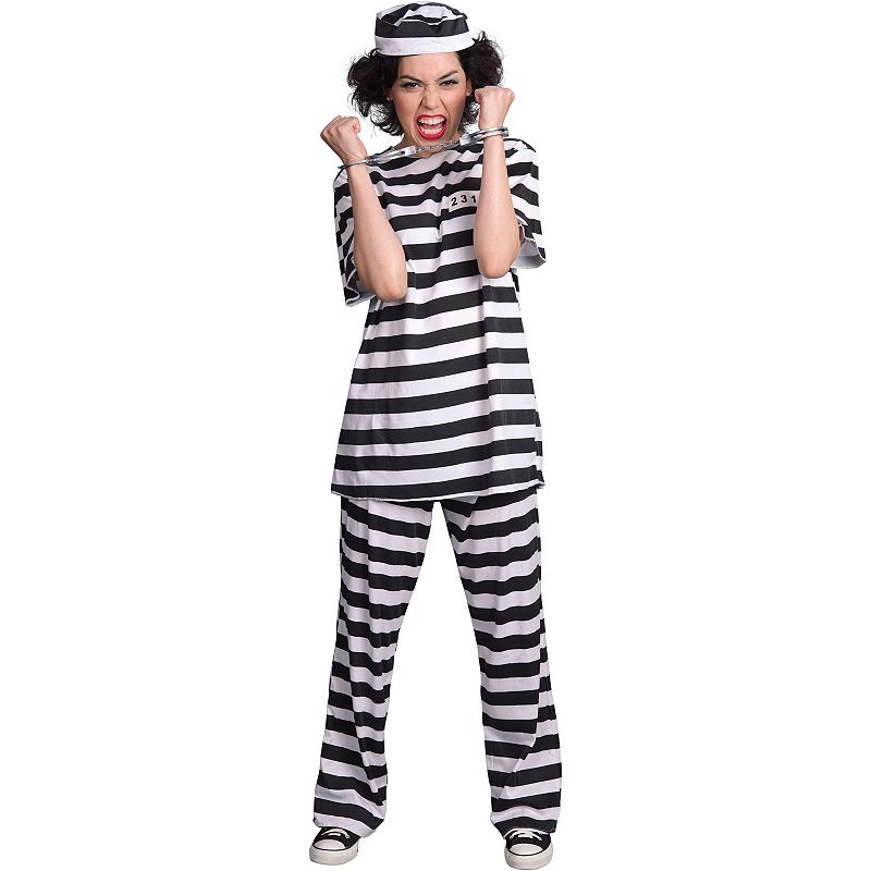 Prisoner Costume - Adult