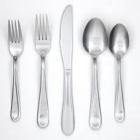 Cambridge Malibu Satin 45-pc. Flatware Set