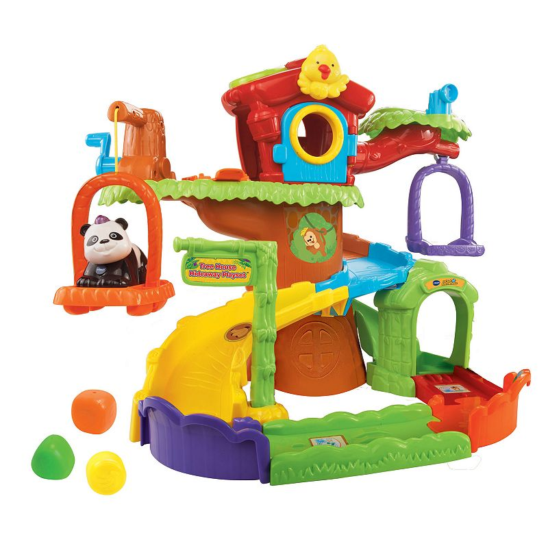 VTech Go! Go! Smart Animals Tree House Hideaway Playset