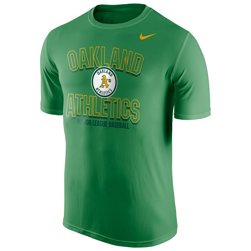 Men's Nike Oakland Athletics Cooperstown Team Issue Legend Tee