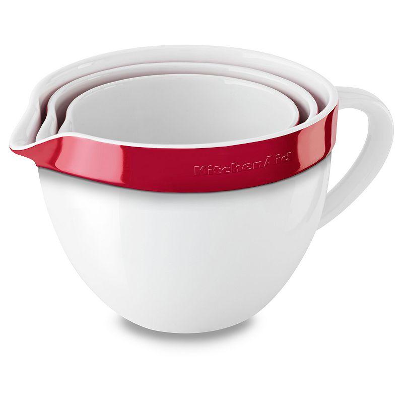 KitchenAid KBLR03NBER 3-pc. Ceramic Mixing Bowl Set
