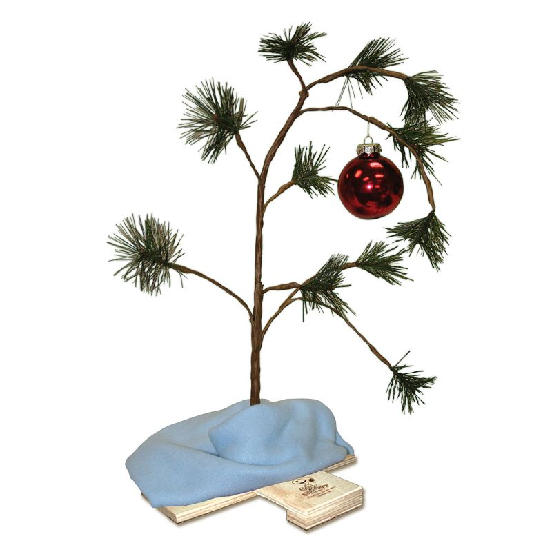 Peanuts Charlie Brown Christmas Tree 24-in. Decor, Multicolor