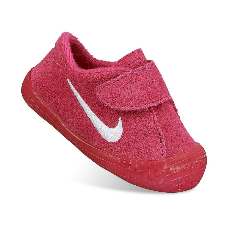 NIKE WAFFLE 1 BABY GIRLS CRIB SHOES RED