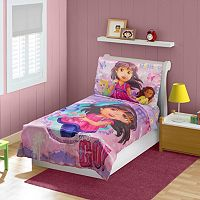 Dora & Friends 4-pc. Bedding Set - Toddler