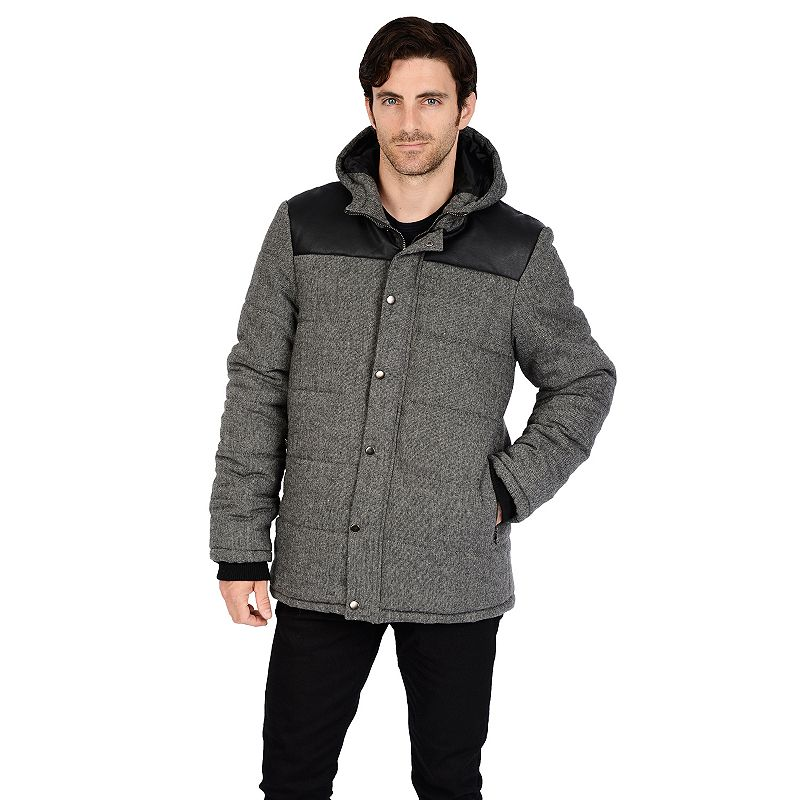 Big & Tall Excelled Channel Quilted Jacket
