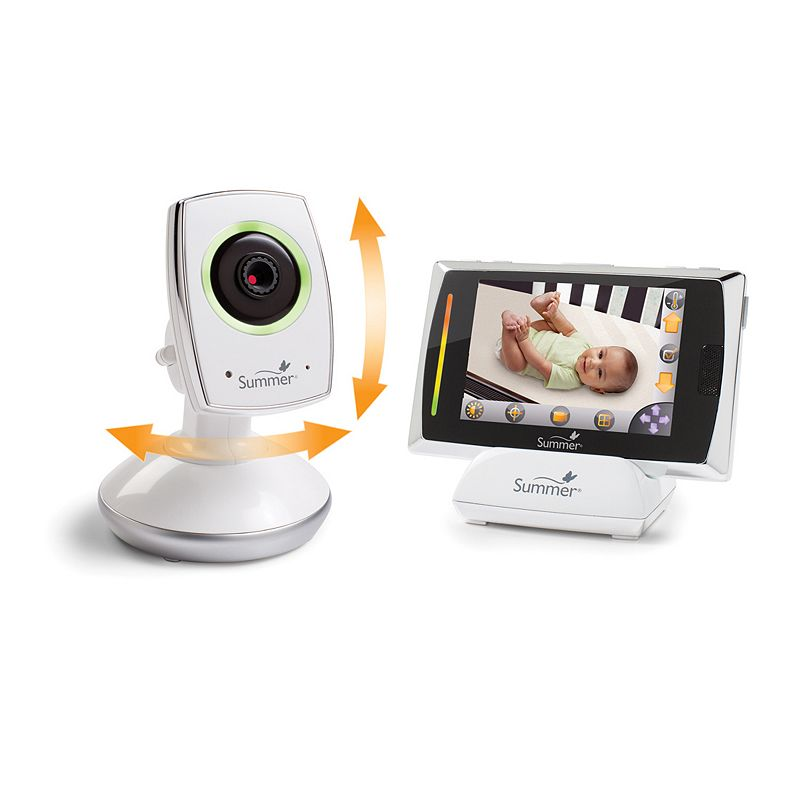 Summer Infant Baby Touch WiFi Video Monitor and Internet Viewing System