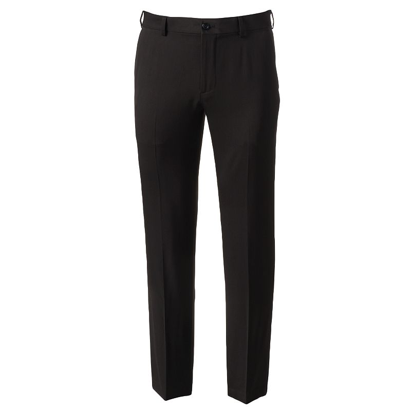 Men's IZOD Ultimate Travel Slim-Fit Wrinkle-Free Performance Flat-Front Pants