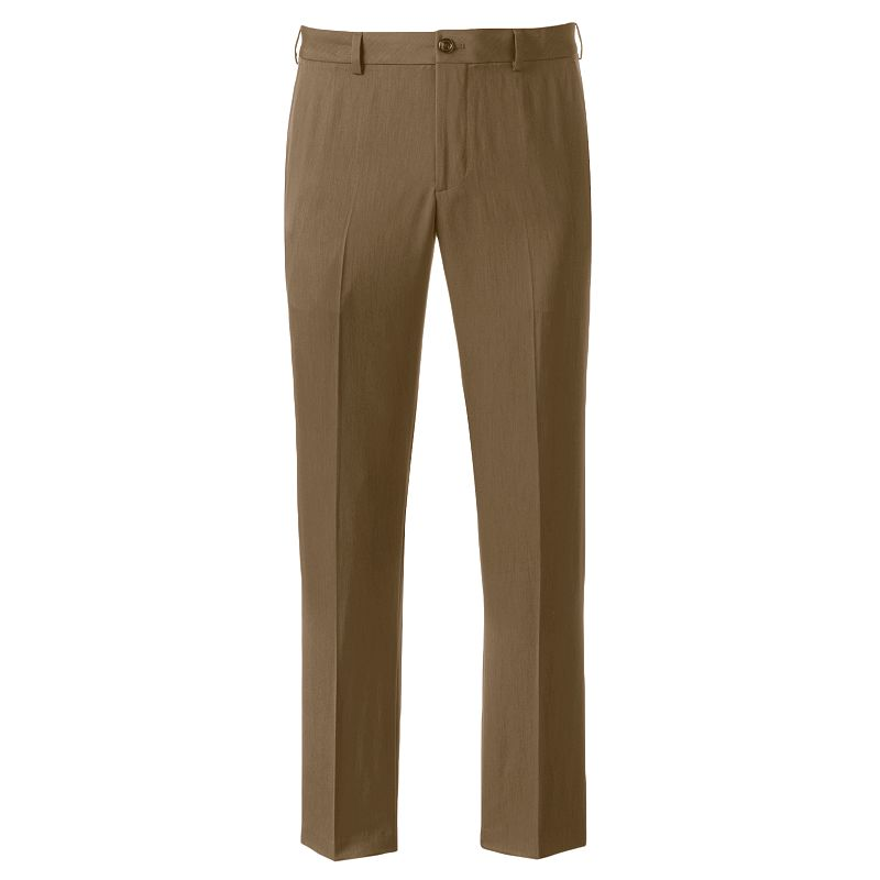 Men's IZOD Ultimate Travel Slim-Fit Wrinkle-Free Performance Flat-Front Pants