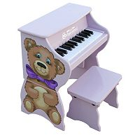 Schoenhut 25-Key Teddy Bear Toy Piano with Bench