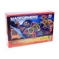 Magformers 55-pc. Dinosaur Set