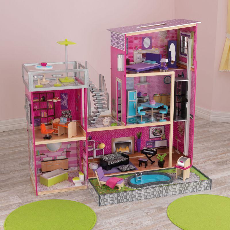 KidKraft Uptown Dollhouse, Pink
