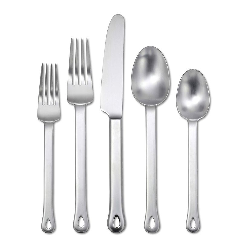 Oneida Cooper Steel 20-pc. Flatware Set