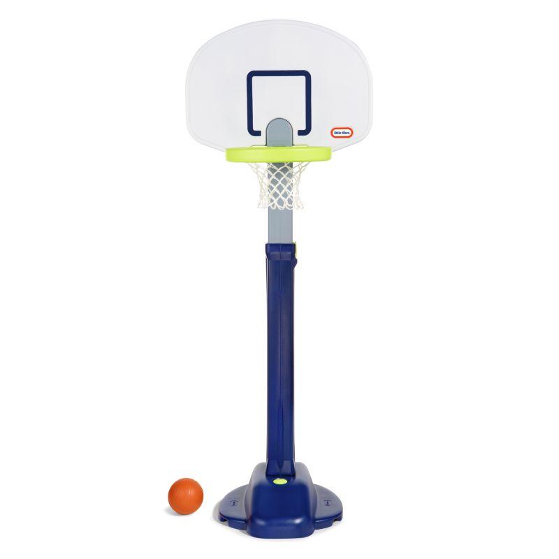 Little Tikes Adjust 'n Jam Pro Basketball Hoop, Clrs thumbnail