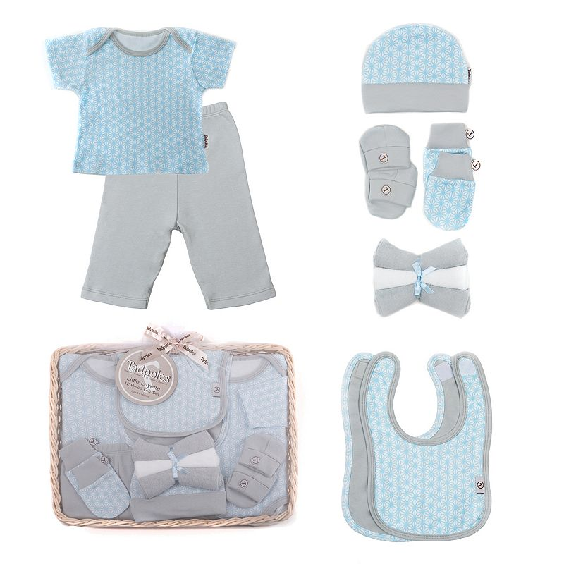 Tadpoles 12-pc. Layette Luxury Starburst Baby Boy Gift Set, Size: 6-12MONTHS, Blue