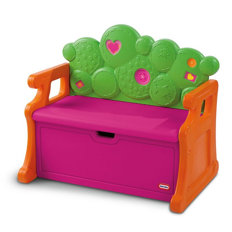 Lalaloopsy Toy Box Bench By Little Tikes Pink
