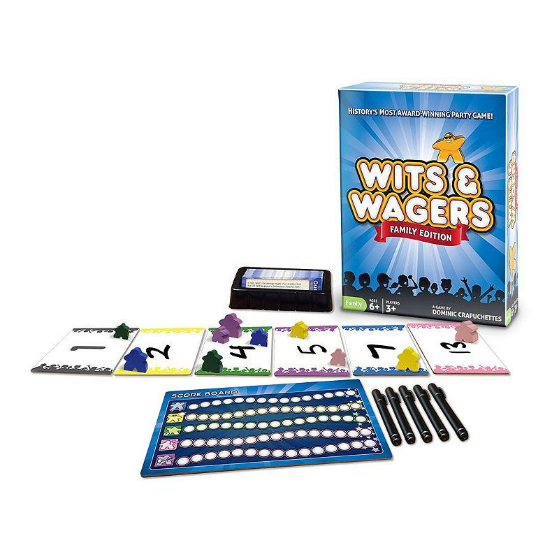 Wits and Wagers Family Edition Game