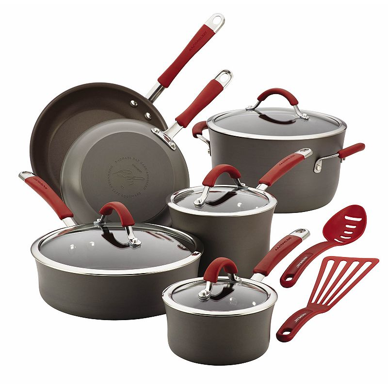 Rachael Ray Cucina 12-pc. Hard-Anodized Nonstick Cookware Set