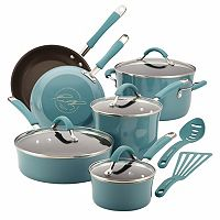 Rachael Ray Cucina 12-pc. Hard-Enamel Nonstick Cookware Set Deals