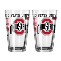 Boelter Ohio State Buckeyes Spirit Pint Glass Set