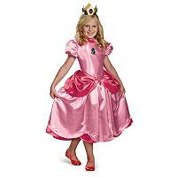 Super Mario Bros. Princess Peach Costume - Kids