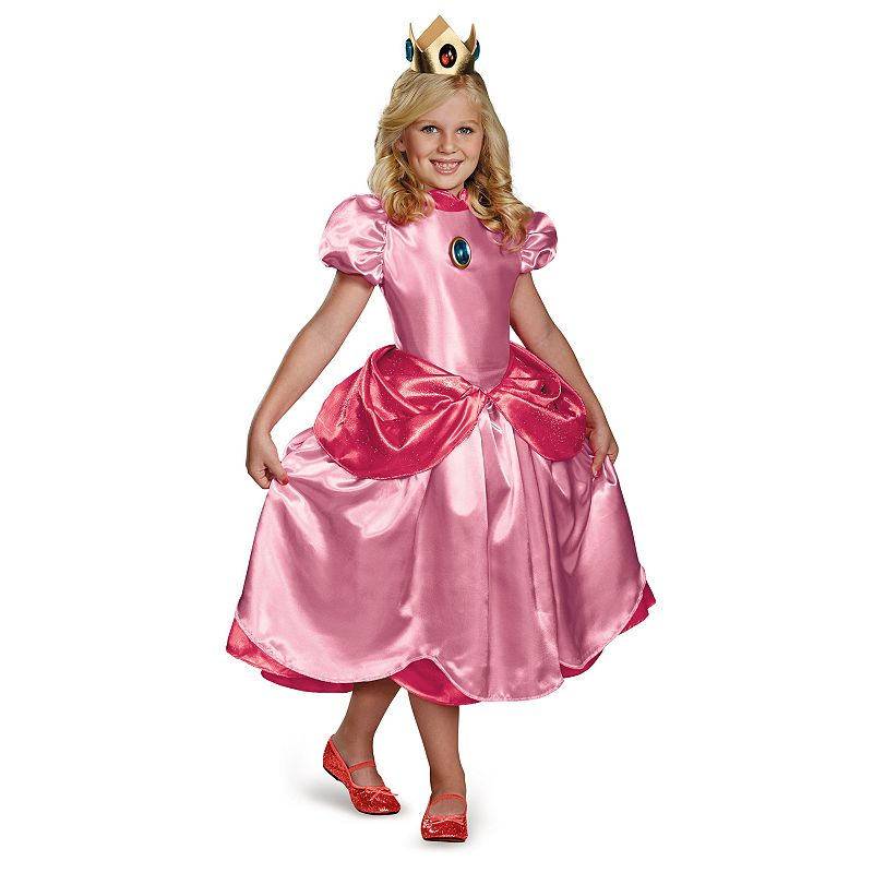 Super Mario Bros. Princess Peach Costume - Kids