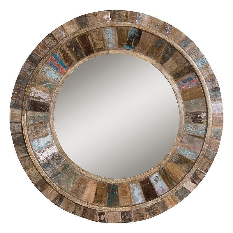 Jeremiah Wood Wall Mirror