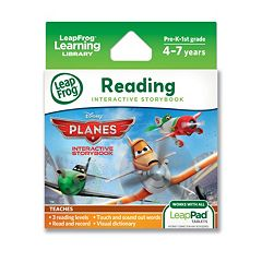 Disney Planes LeapFrog Interactive Storybook by