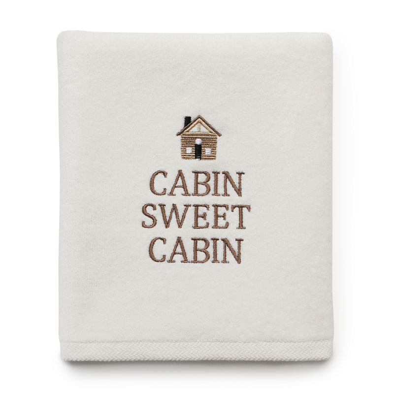SONOMA Goods for Life™ ''Cabin Sweet Cabin'' Hand Towel