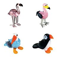 Looking Glass 4-pk. Exotic Bird Mini Figurines