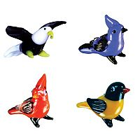 Looking Glass 4-pk. Bird Mini Figurines