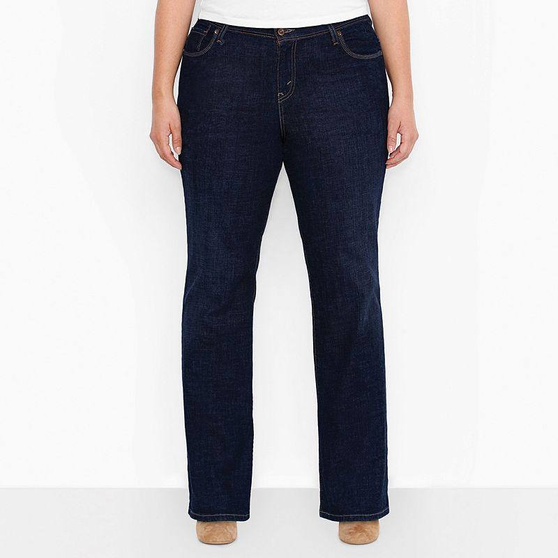 Plus Size Levi's 580 Curvy Bootcut Jeans