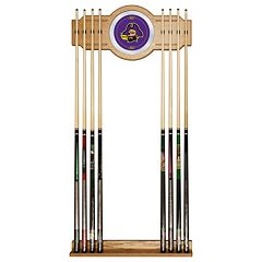 East Carolina Pirates Billiard Cue Rack with Mirror by