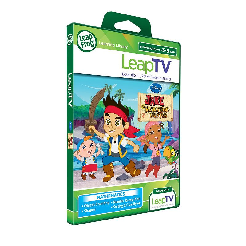 Disney Jake and the Never Land Pirates LeapTV Educational Active Video Game by LeapFrog
