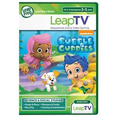 LeapFrog Bubble Guppies Educational Video Game by