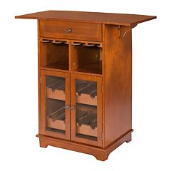 Peoria 8-Bottle Wine Storage Cabinet by