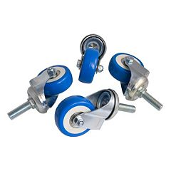 4-piece Wine Cabinet Caster Wheels Set by