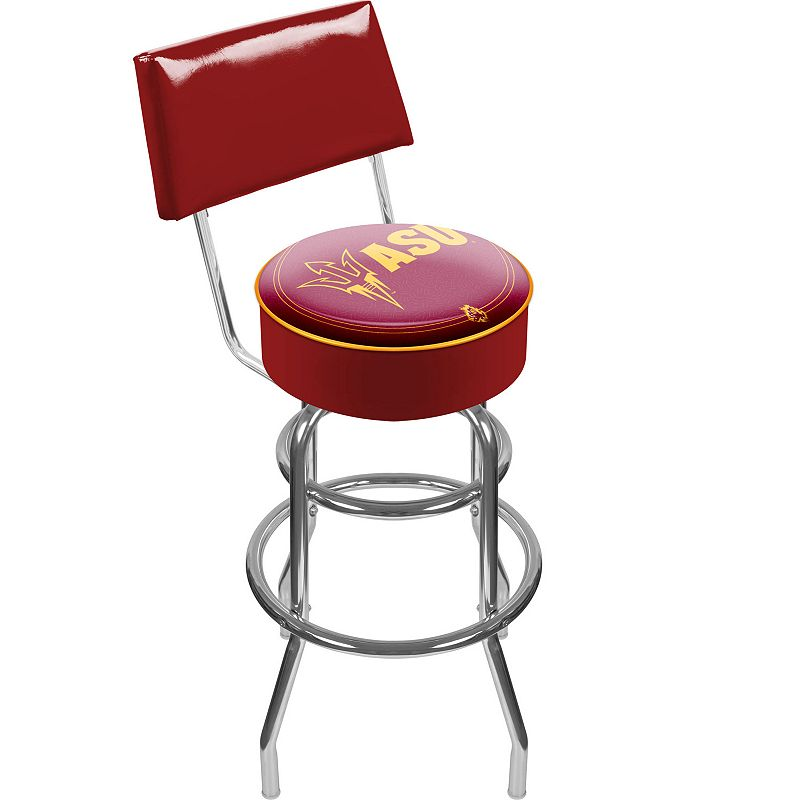 Arizona State Sun Devils Padded Swivel Bar Stool with Back