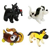 Looking Glass 4-pk. Dog Mini Figurines