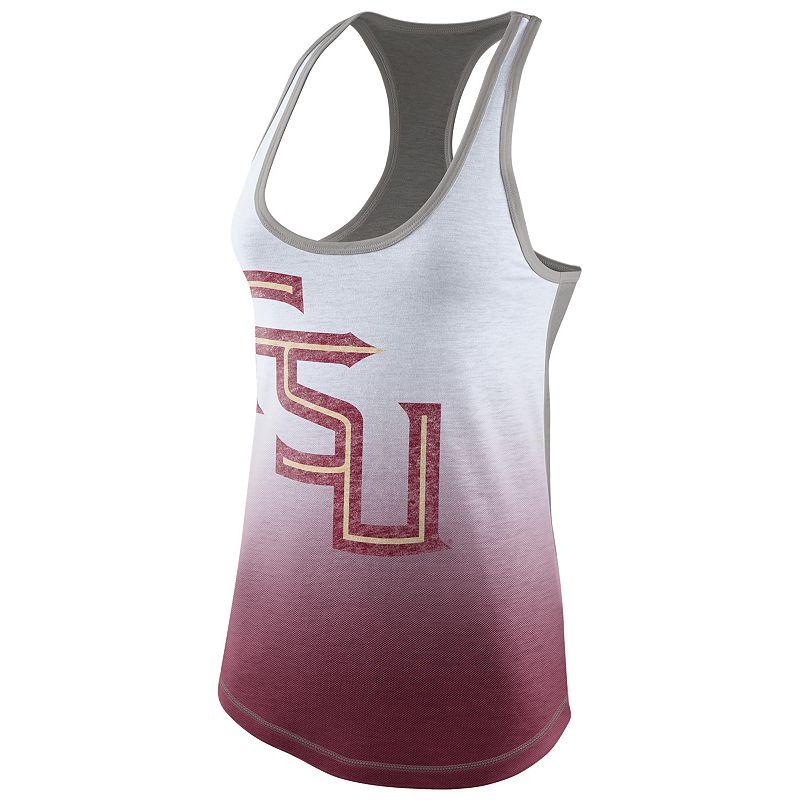 Women's Nike Florida State Seminoles Large Logo Tri-Blend Tank