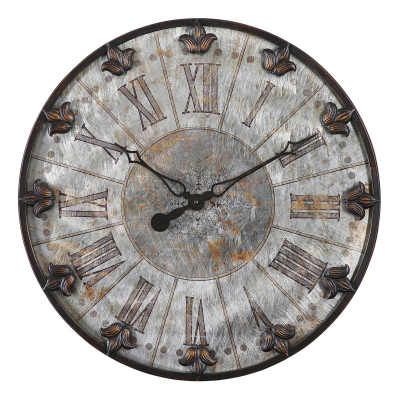 Artemis Antique Wall Clock, Multicolor