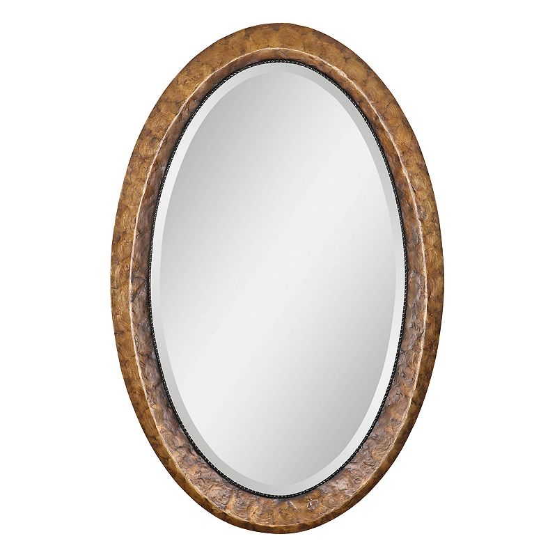 Capiz Vanity Beveled Wall Mirror