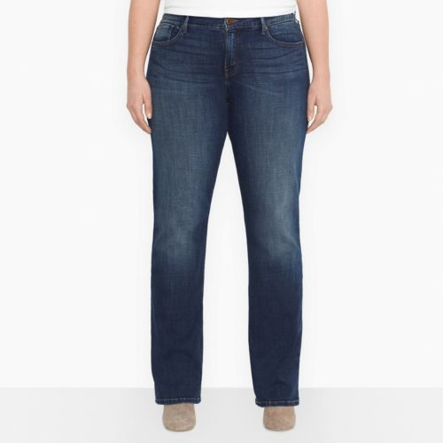 Levi's 512 Perfectly Slimming Bootcut Jeans - Women's Plus Size