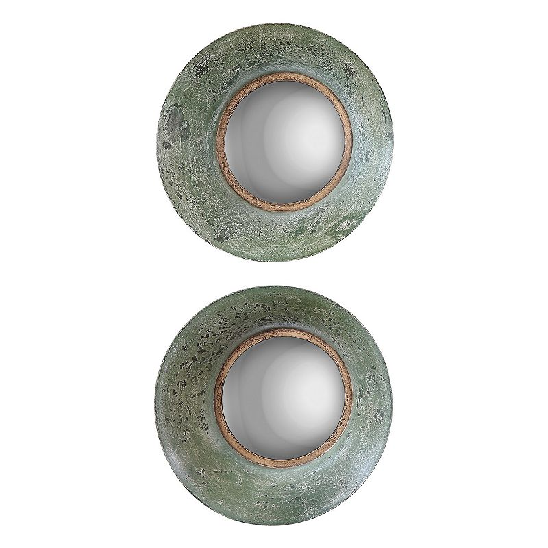 Forbell 2-piece Round Wall Mirror Set