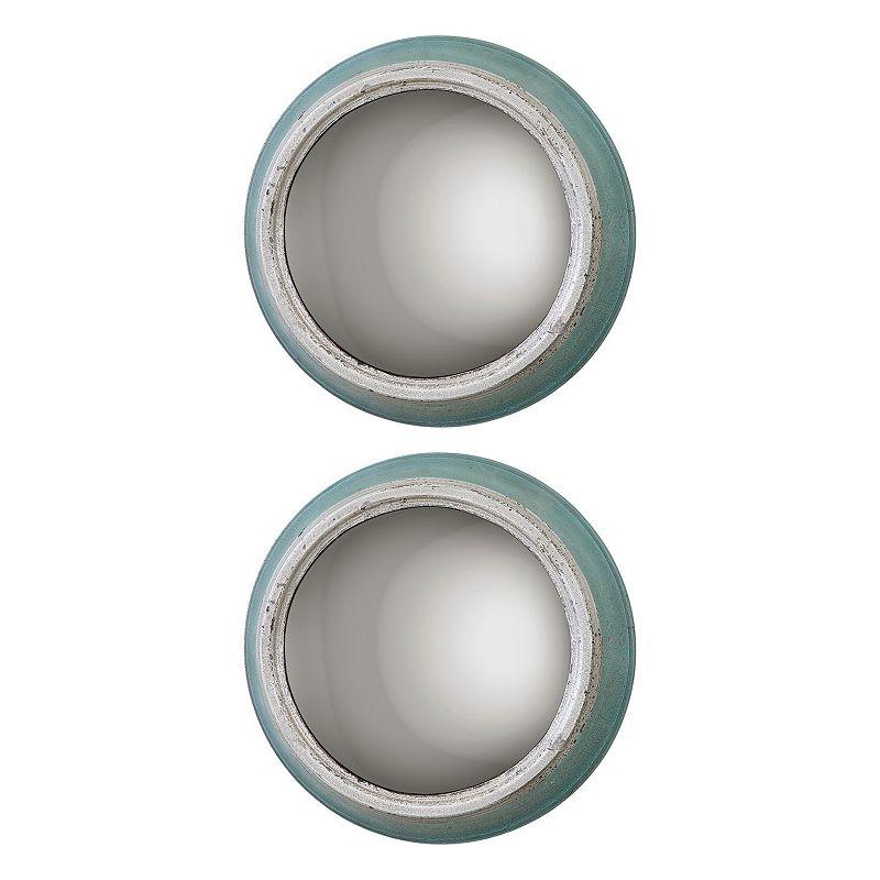 Fanchon 2-piece Round Wall Mirror Set