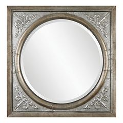 Ireneus Embossed Wall Mirror by