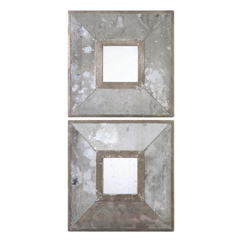 Gisila 2-piece Square Wall Mirror Set