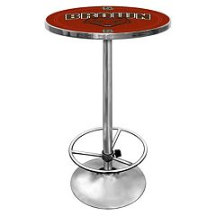 Brown Bears Chrome Pub Table by