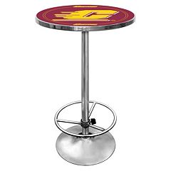 Central Michigan Chippewas Chrome Pub Table by