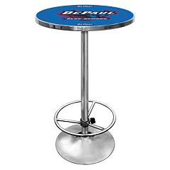 DePaul Blue Demons Chrome Pub Table by